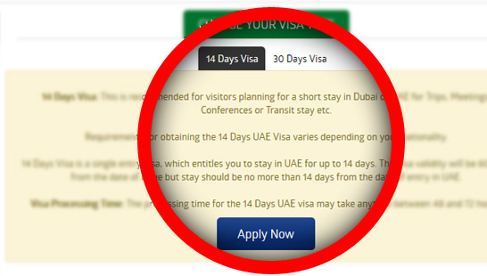 Select the Visa type and apply now Oman visa